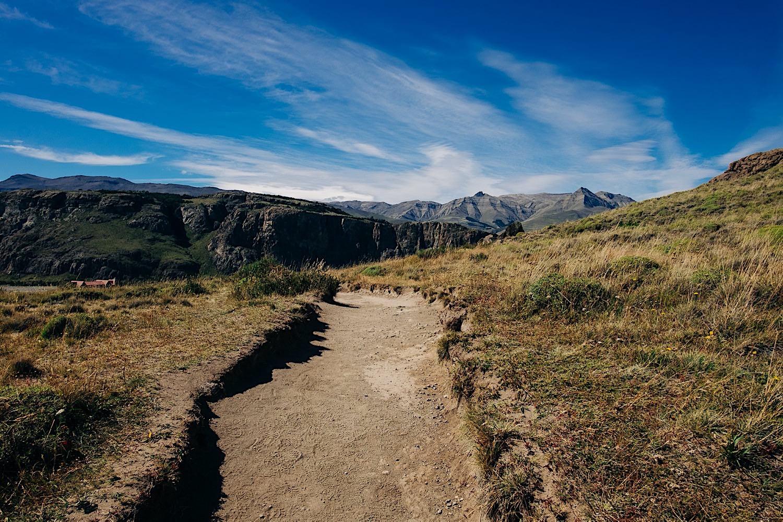 Wandern in Patagonien in El Chalten