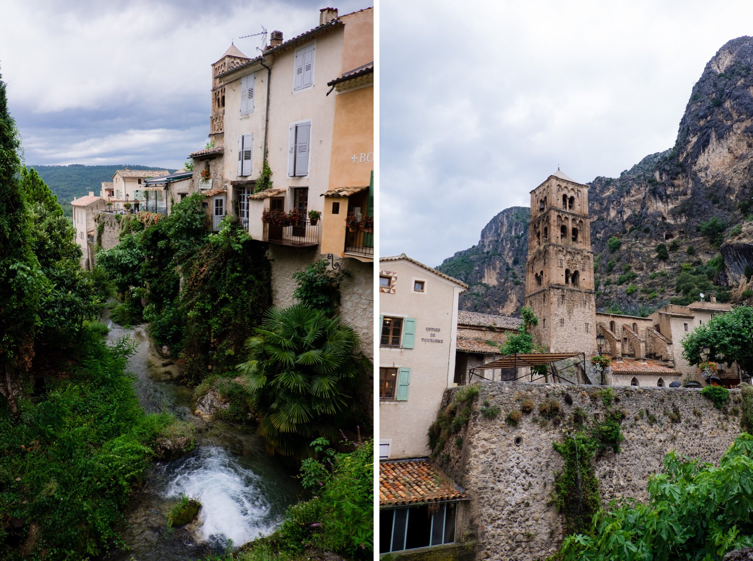 Saint Marie Moustiers in der Provence
