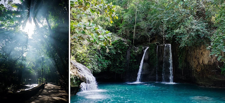 Kawasan Falls auf den Philippinen