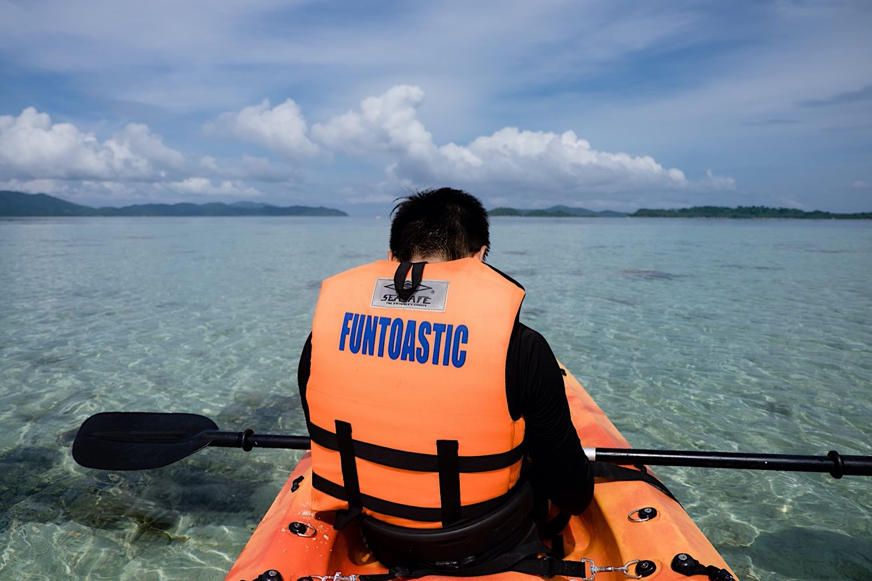 Kanu Tour auf Port Barton