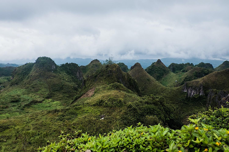 Berge auf Cebu Osmena Peak