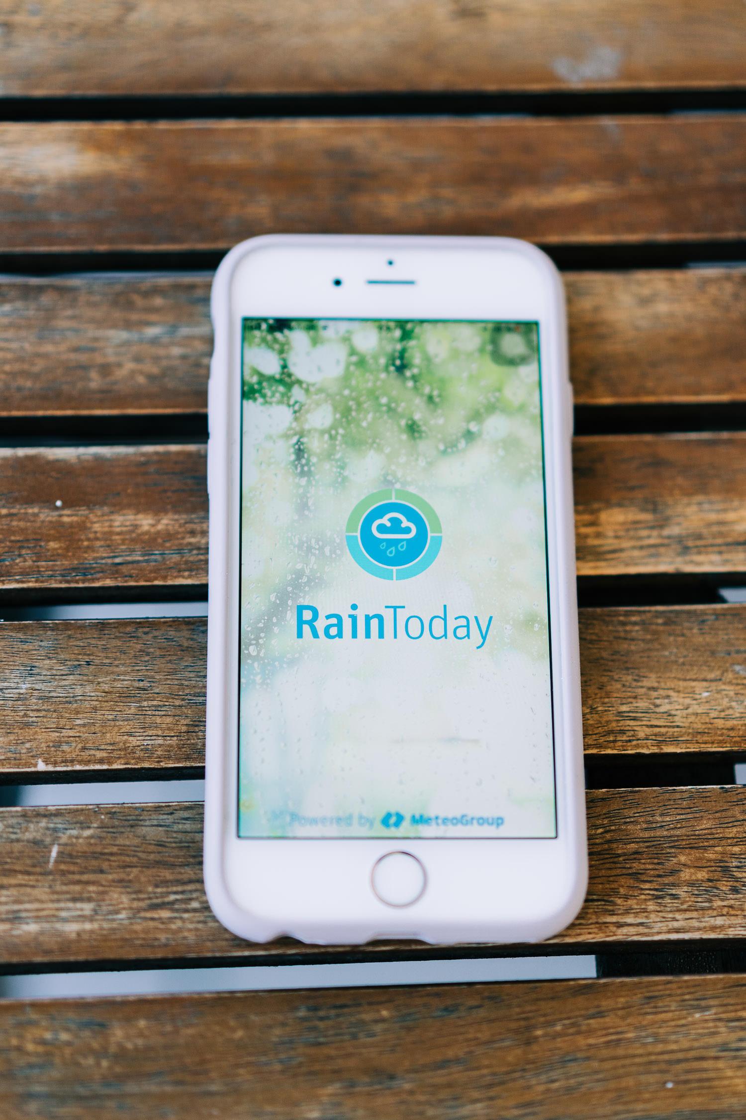 Wandern Apps Thema Wetter
