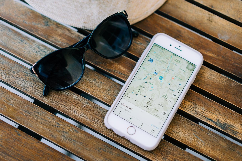 Wander Apps zur Orientierung