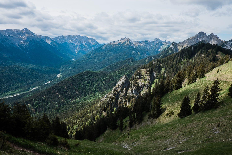 Wandern in Oberammergau zum Hennenkopf