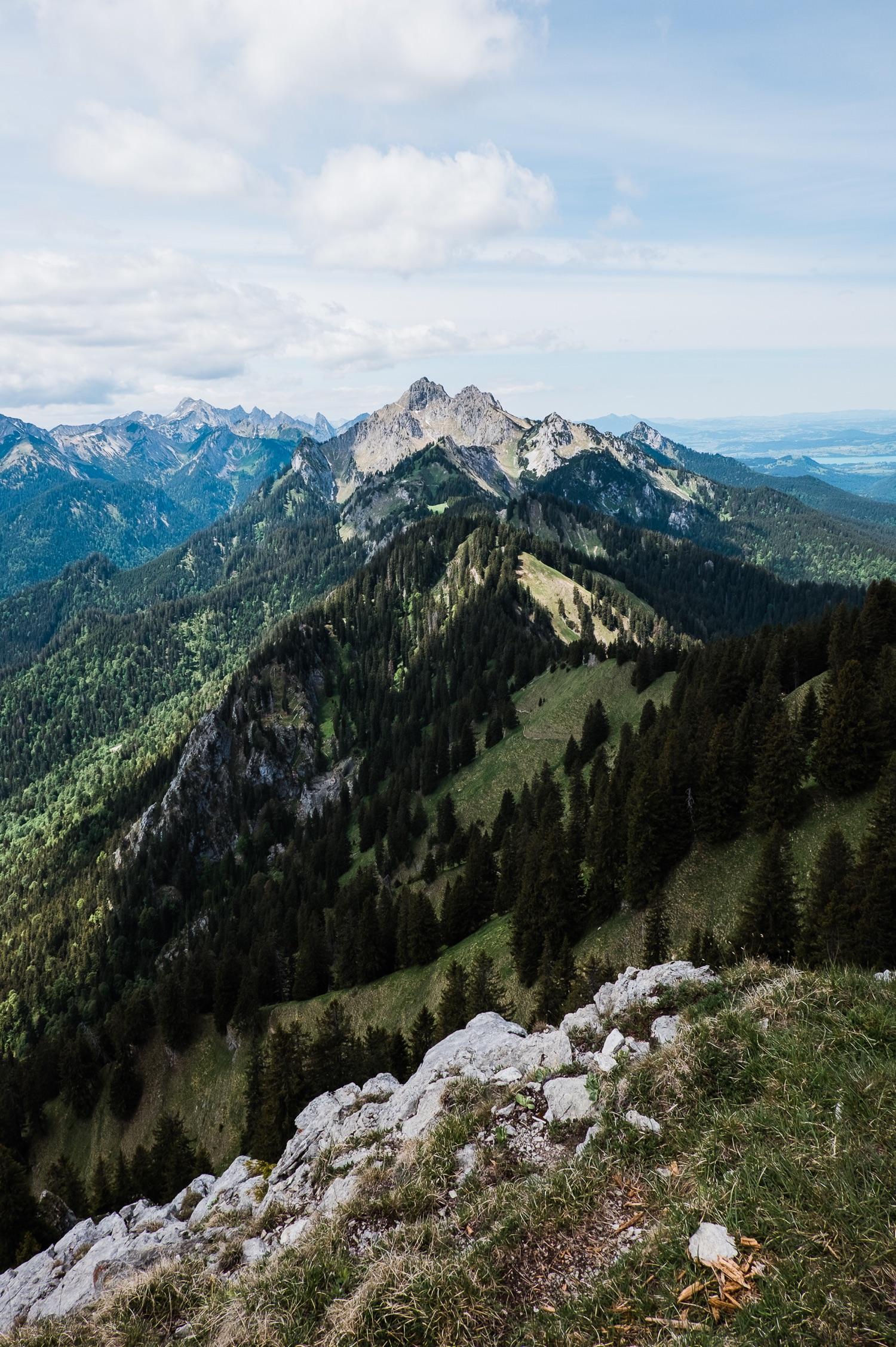 Ausblick vom Hennenkopf