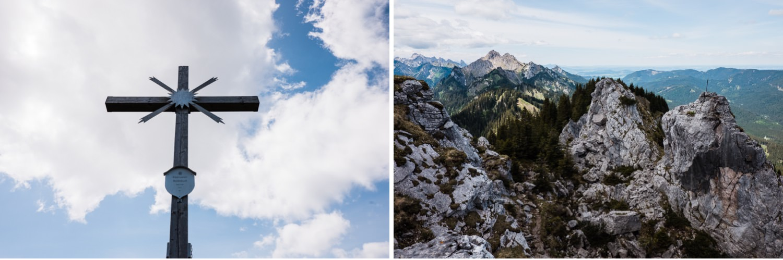 Oberammergau Gipfel Bayern