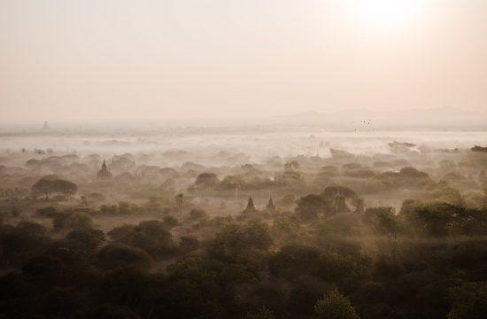 Ballonfahrt Bagan Myanmar