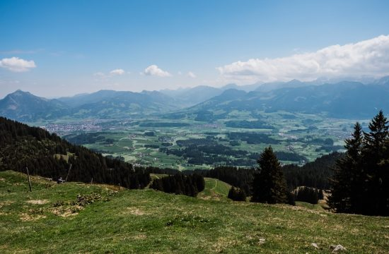 Panoramaweg abseits der Massen