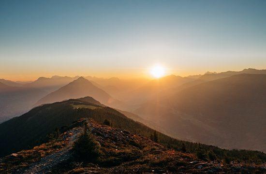 Kreuzjoch im Pitztal zum Sonnenaufgang