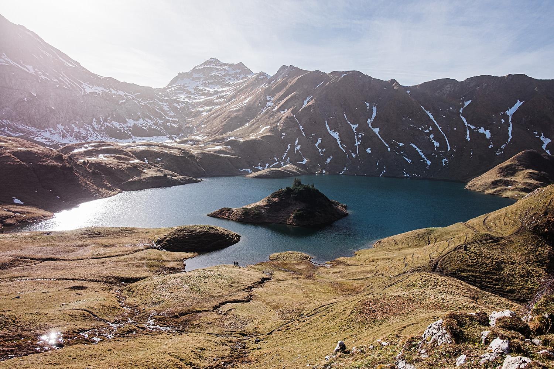 Bergsee Wanderung zum Schrecksee