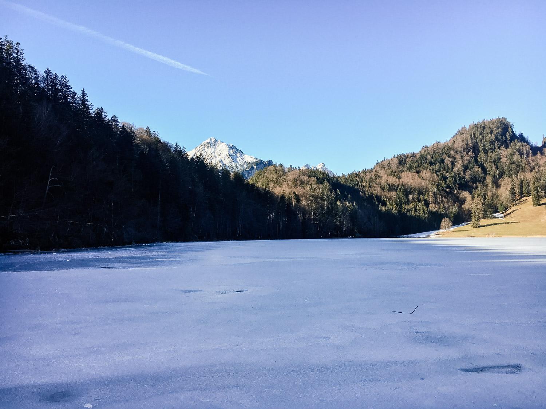 Wanderung zum Alatsee in Füssen